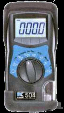 Rothenberger RO-K504 elektro-optikai gázanalizátor