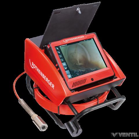 Rothenberger ROCAM 4 Plus csővizsgáló kamera 65m-es kábellel, 30mm-es EU kamerafejjel