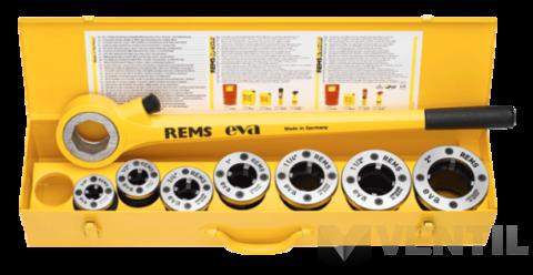 """REMS Eva Set 3/8-2"""" kézi menetvágó - menetmetsző"""