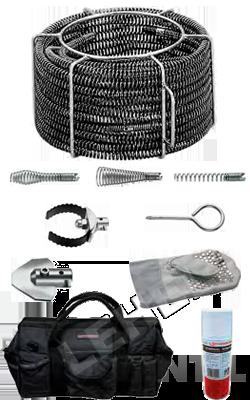 Rothenberger Szerszám csőtisztító spirál készlet Standard 22mm
