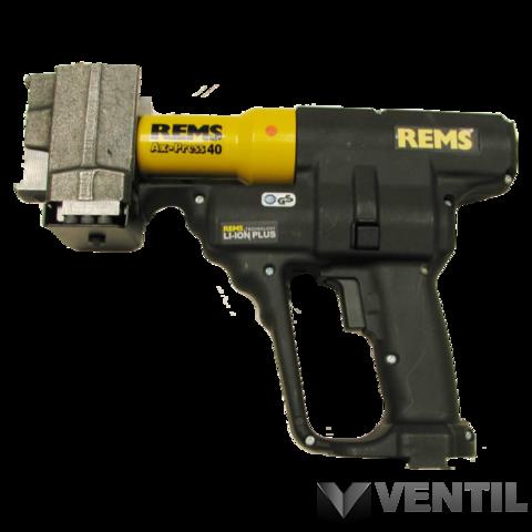 REMS Ax-Press 40 Li-Ion akkumulátoros axiálprésgép