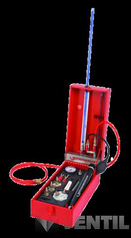Rothenberger Rotest GW 150/4 gáz- és vízvezeték ellenőrző készülék próbapumpa
