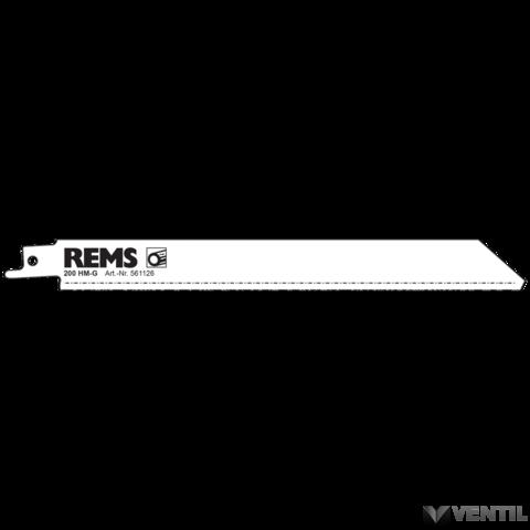 REMS fűrészlap 200 (öntött vas is)