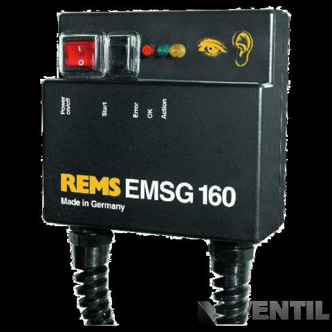 REMS EMSG 160 elektromos karmantyú műanyaghegesztő gép