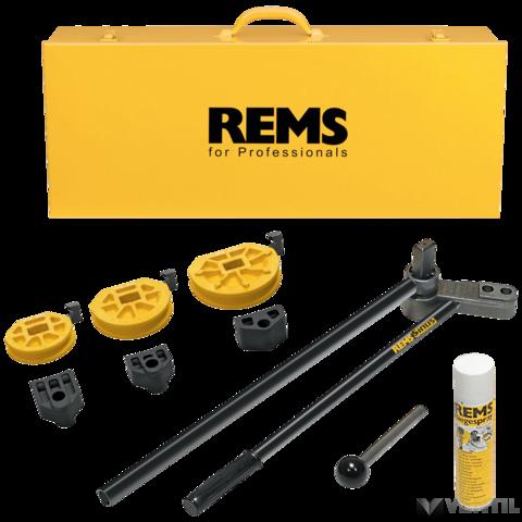 REMS Sinus Set kézi csőhajlító szett 10-12-14-16-18-22
